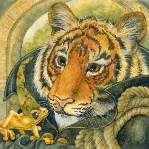 tiger frog