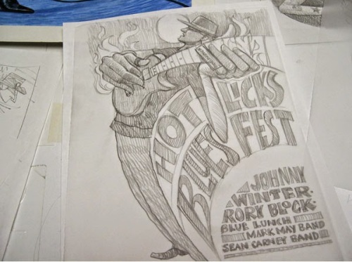bowers-bluesfest 14 sketch process5