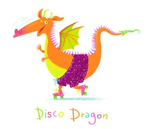 disco dragon