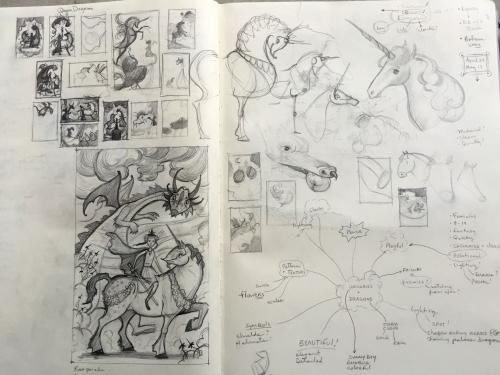 1.Sketchbook page