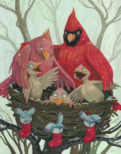 Christmas Cardinal WEB