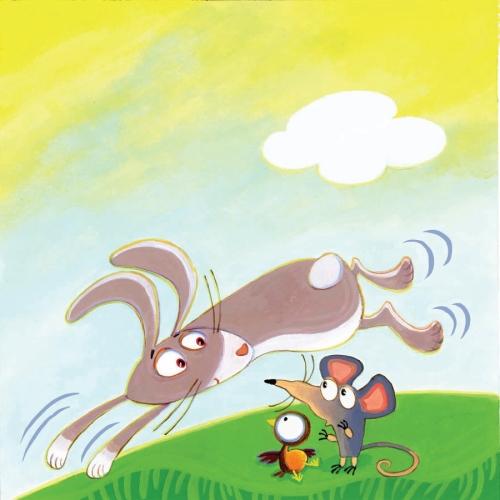 Nancy Cote WTB rabbit mouse