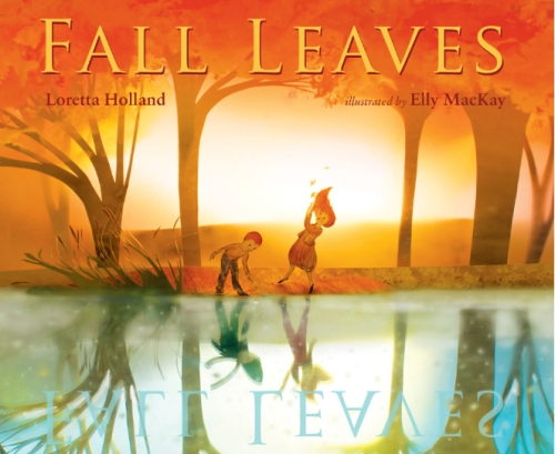 Falling leaves cover