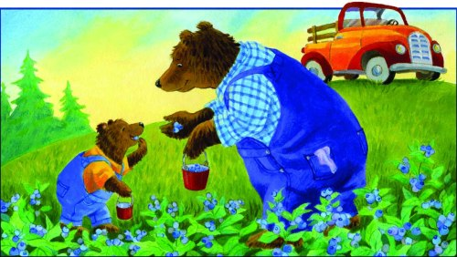 labor day Ann isoa Bear+Picking+Berrys001+copy+2