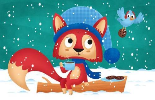 christmas-fox