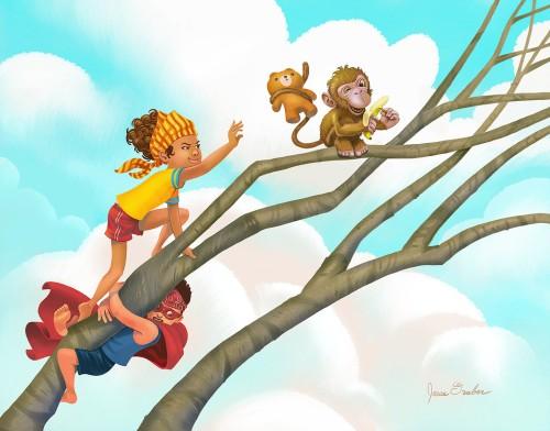 monkey-tree