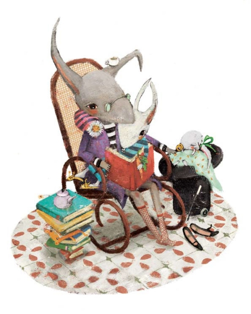mouse-rocking-chair