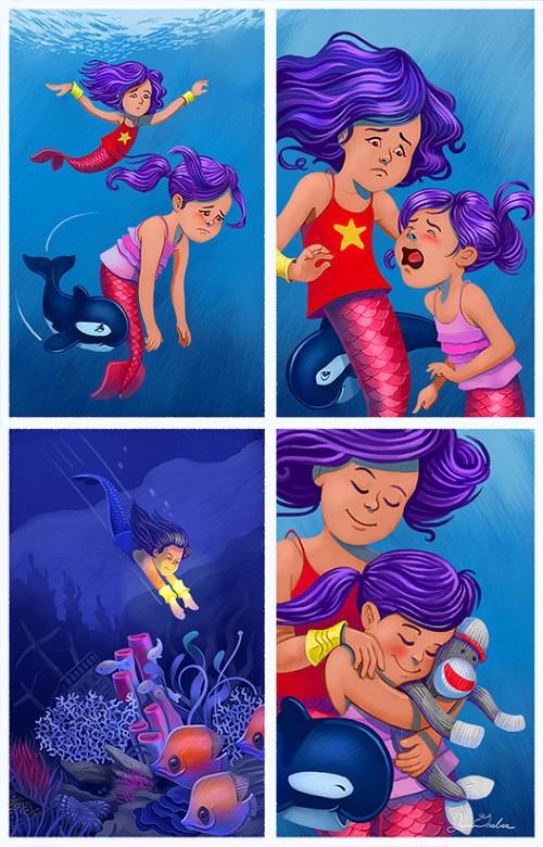 super-mermaid