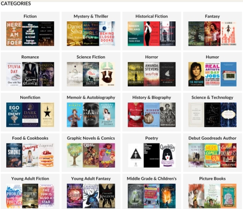 goodreads-categories
