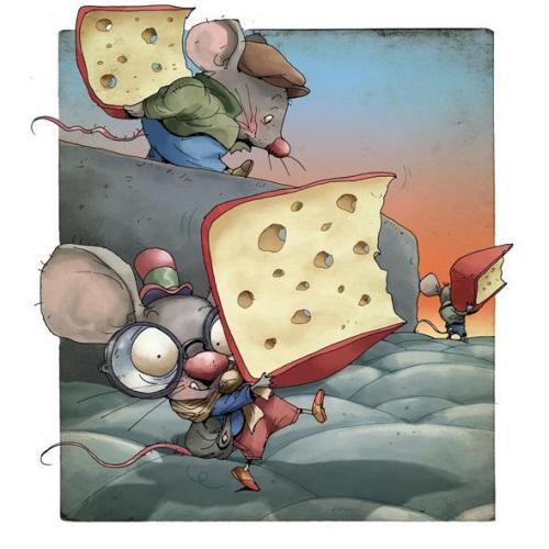mouse-and-cheese