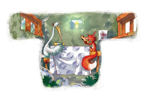 stork-and-fox