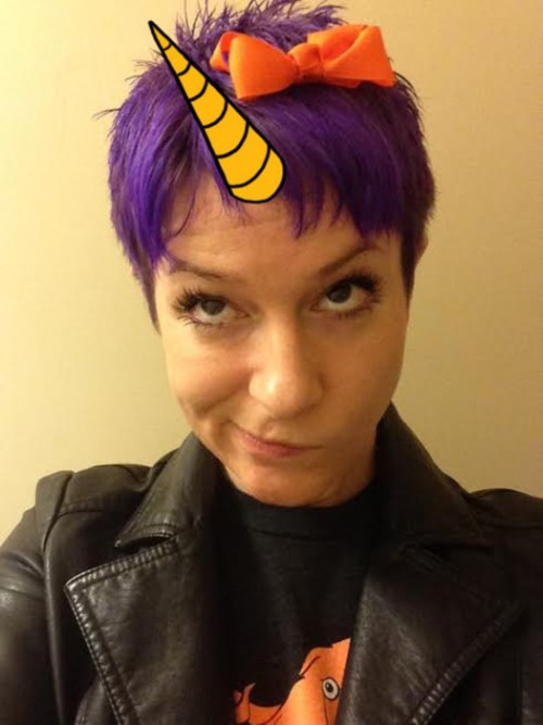 Follow Ame on Twitter (@AmeDyckman), where she posts picture book reviews,  goofy poetry, and pretty much everything that pops into her (usually blue- haired, ...
