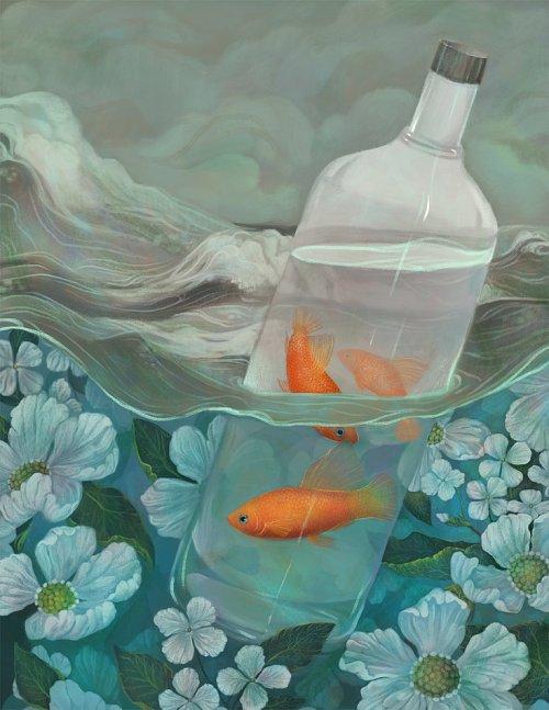 fish-in-bottle