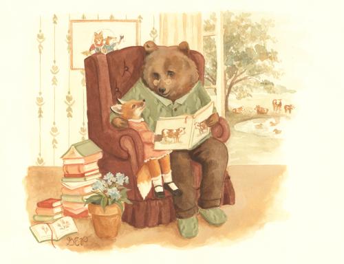 grandpabearschair