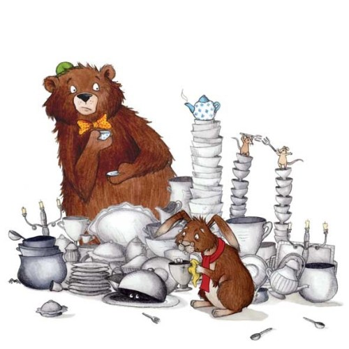 silverware-and-china-bear