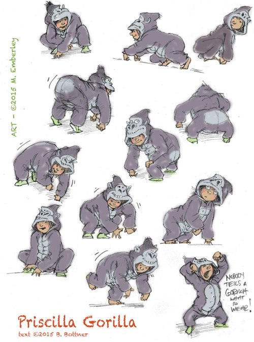 priscilla-color-ape-poses-color