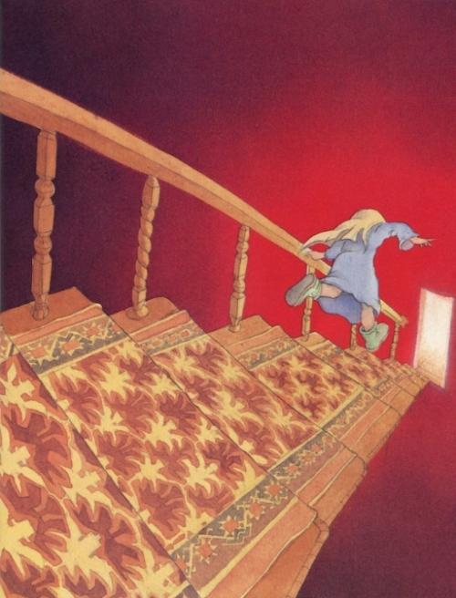 running-down-stairs