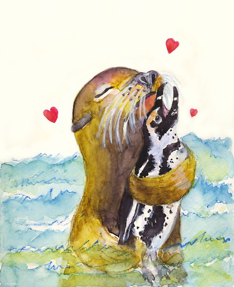 valentine1-seal-and-african-penguin-valentine-m-kogan-2-11-2017