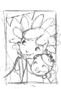 Process Is Nearly Always The Same For A Book Or Single Illustration I Start With Tiny Fast Thumbnails Of Pages Just Idea