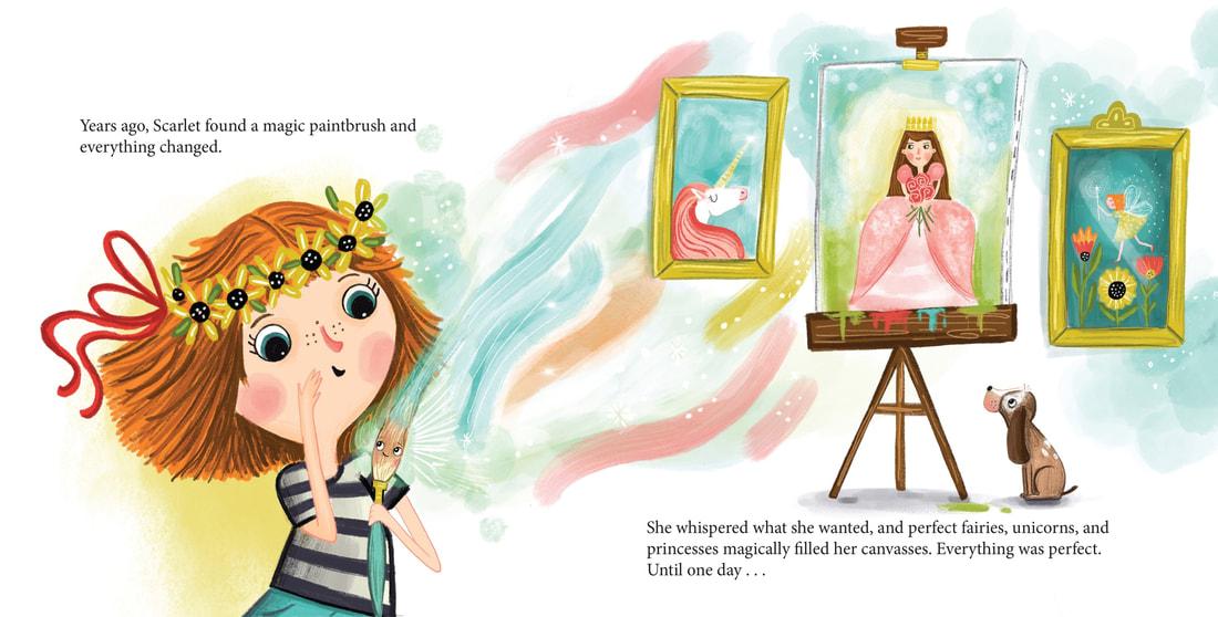 Illuatrator Saturday – Sandie Sonke | Writing and Illustrating