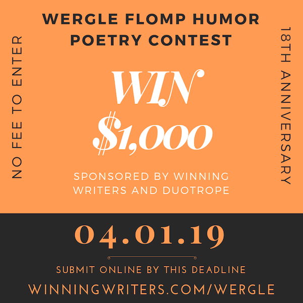Wergle Flimp Humor Poetry Contest – No Fee | Writing and