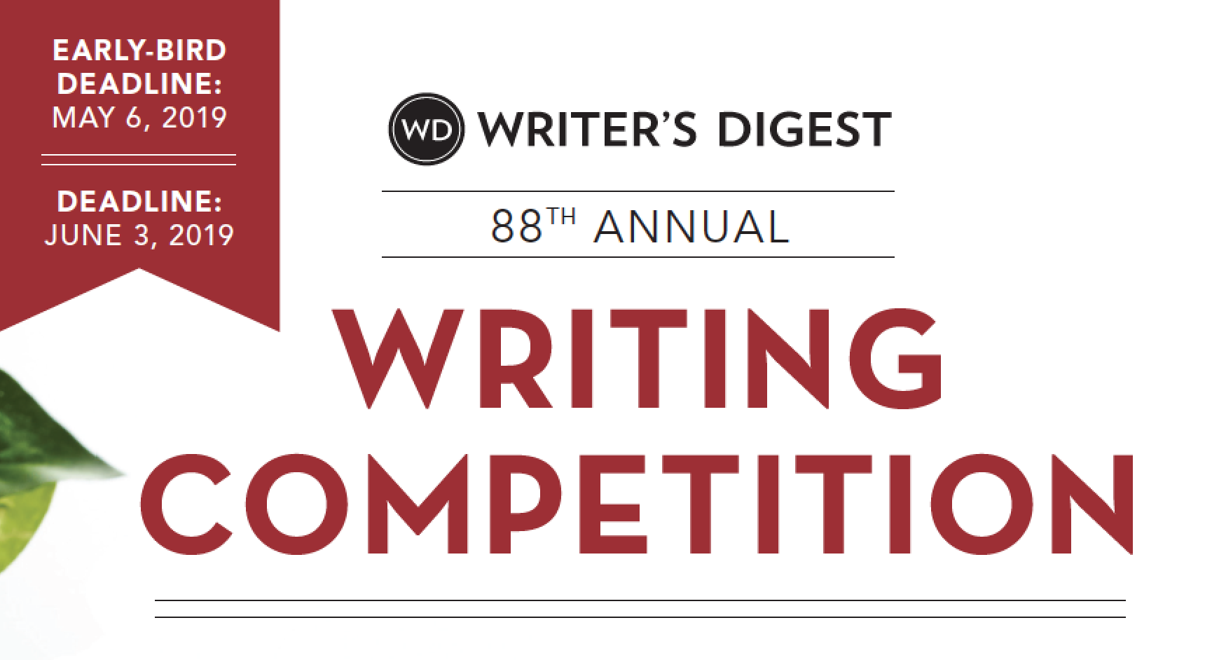 Writer's digest essay contest