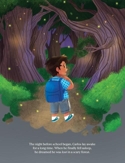 kindergarten hat woods - Book Giveaway: KINDERGARTEN HAT by Janet Lawler