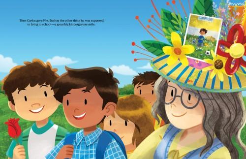 kindergartenhatlastpg - Book Giveaway: KINDERGARTEN HAT by Janet Lawler